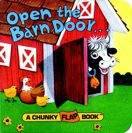 Open the Barn Door, Find a Cow - Board Book