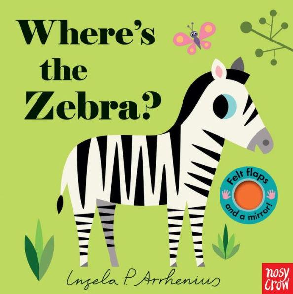 Where's the Zebra? - Board Book