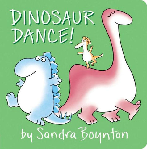 Dinosaur Dance - Board Book - Pacifier