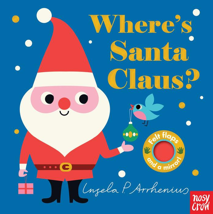 Where's Santa Claus? - Board Book