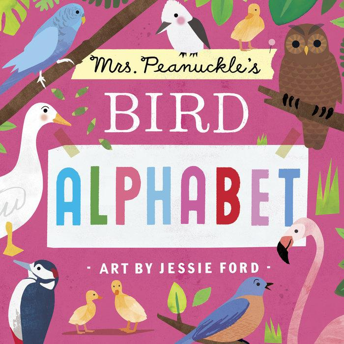 Mrs. Peanuckle's Bird Alphabet - Board Book