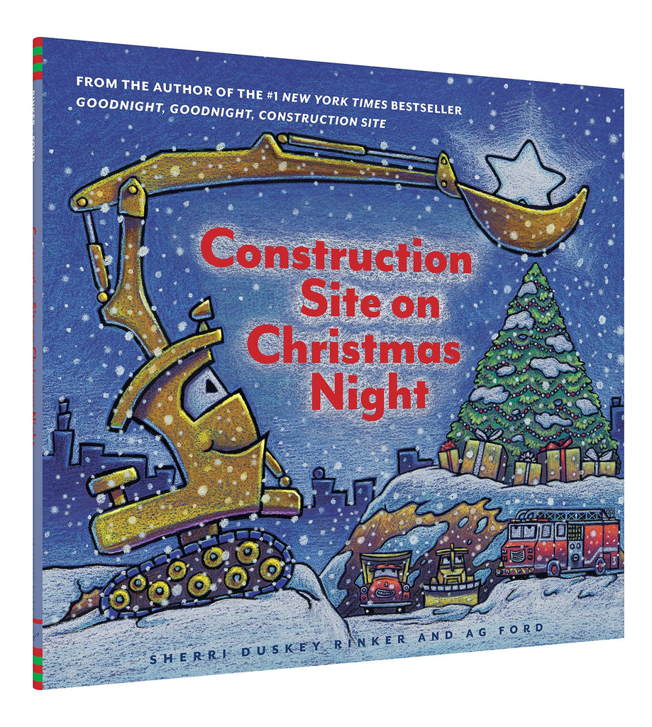 Construction Site on Christmas Night Chronicle Books Books