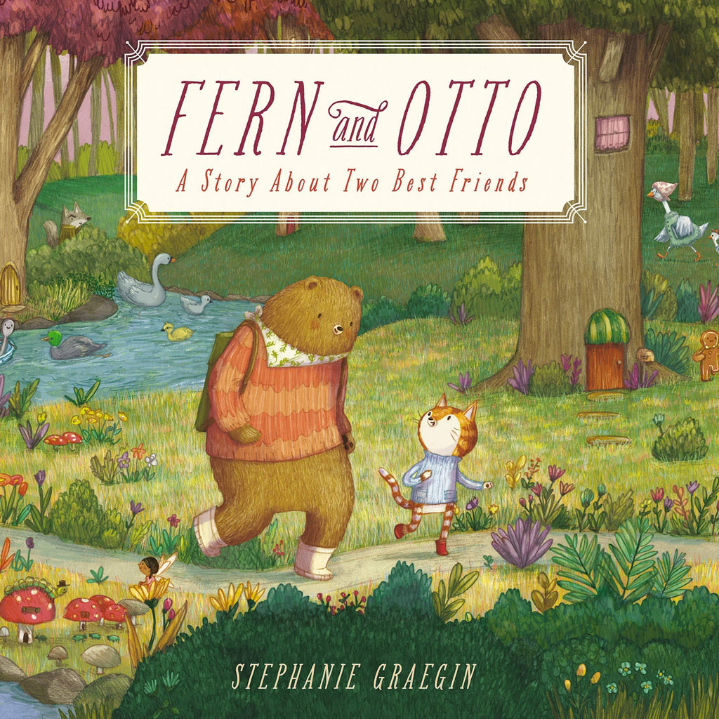 Fern and Otto: A Story About Two Best Friends - Hardcover