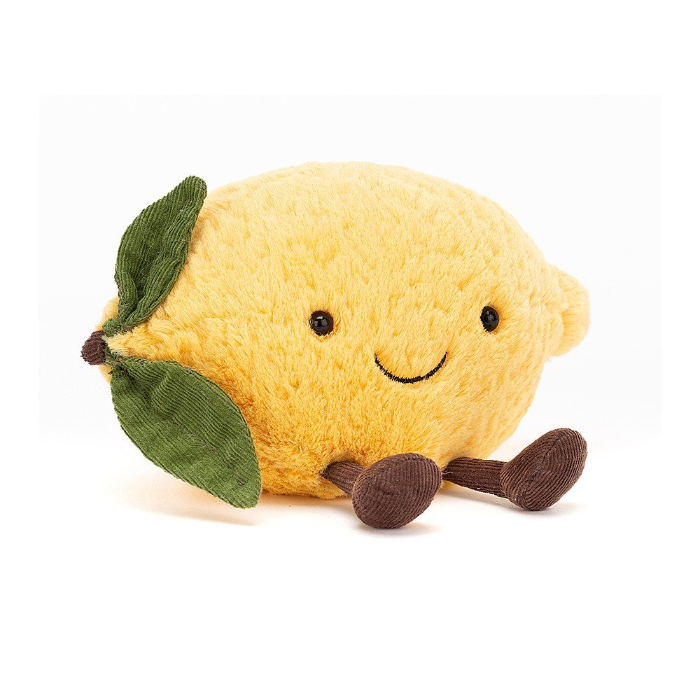 Amuseables Lemon - Small 7 Inch by Jellycat