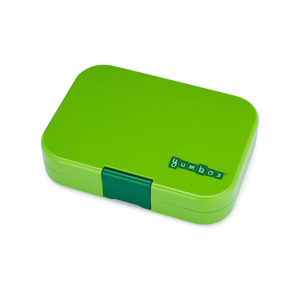 Yumbox Panino Leakprook Bento Box - 4 Compartment - Avocado Green