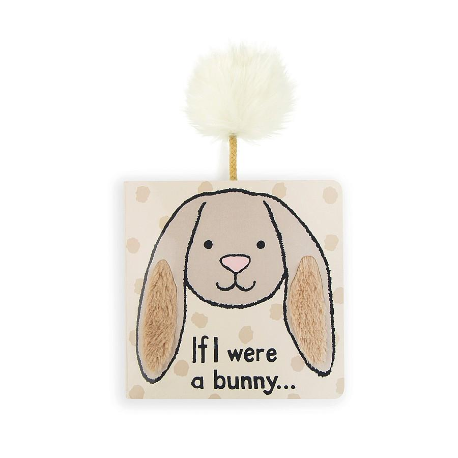 If I Were a Bunny - Board Book by Jellycat - Pacifier