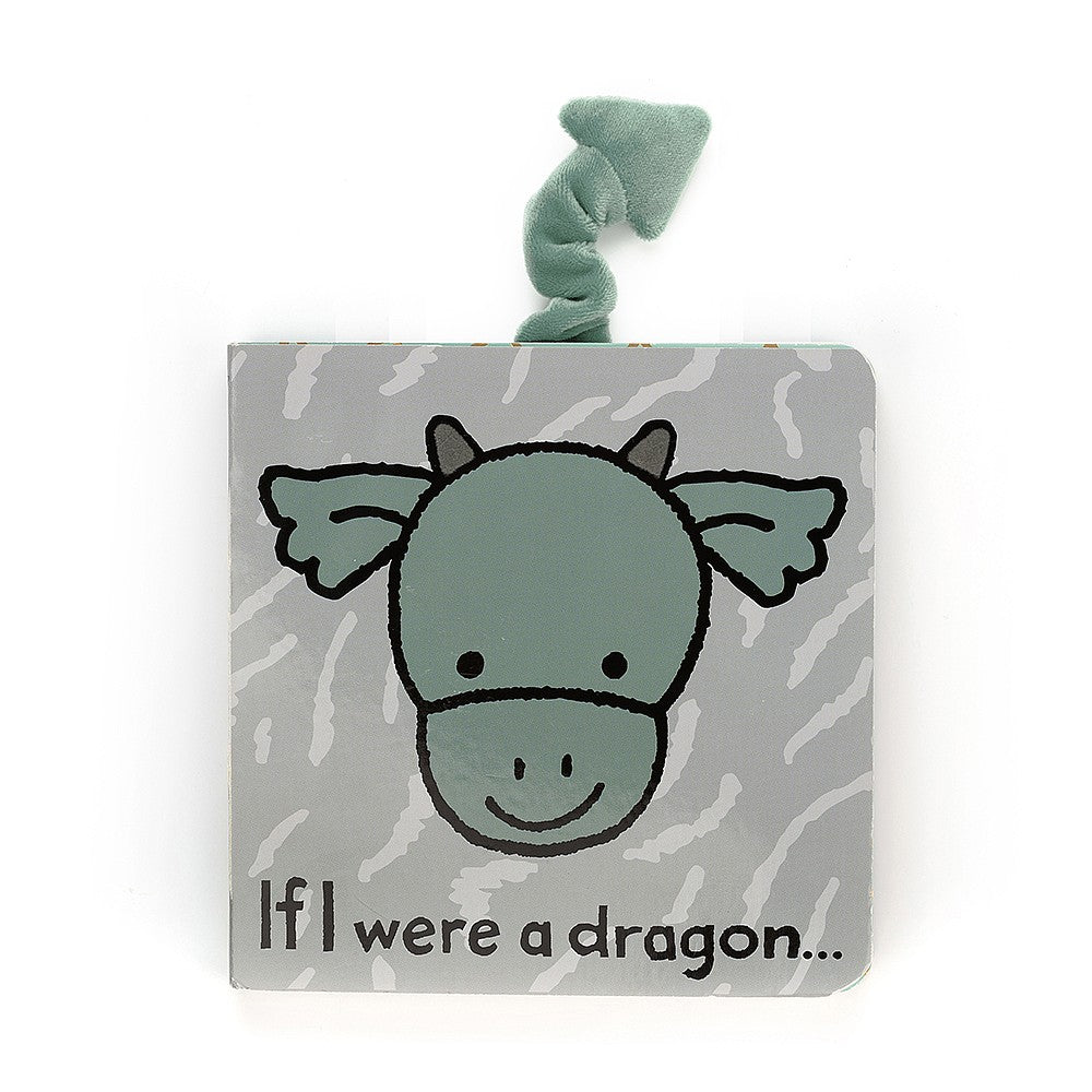 If I Were a Dragon - Board Book by Jellycat