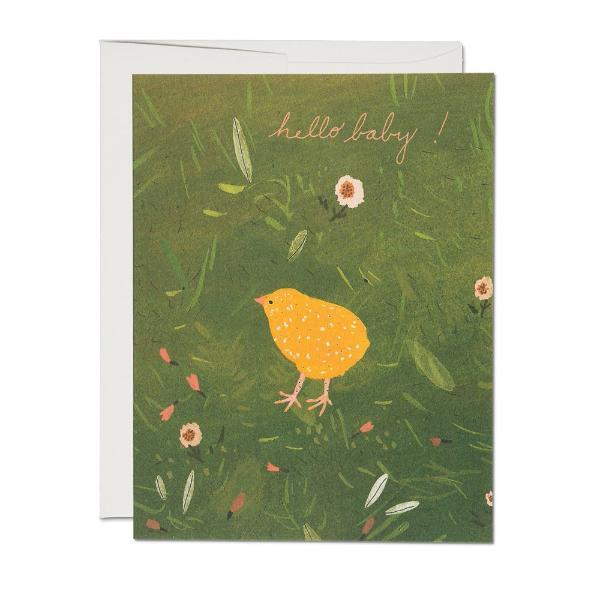 Baby Chick Card Red Cap Cards Paper Goods