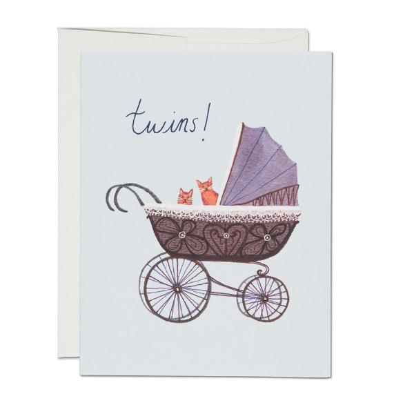 Twin Kitties Card