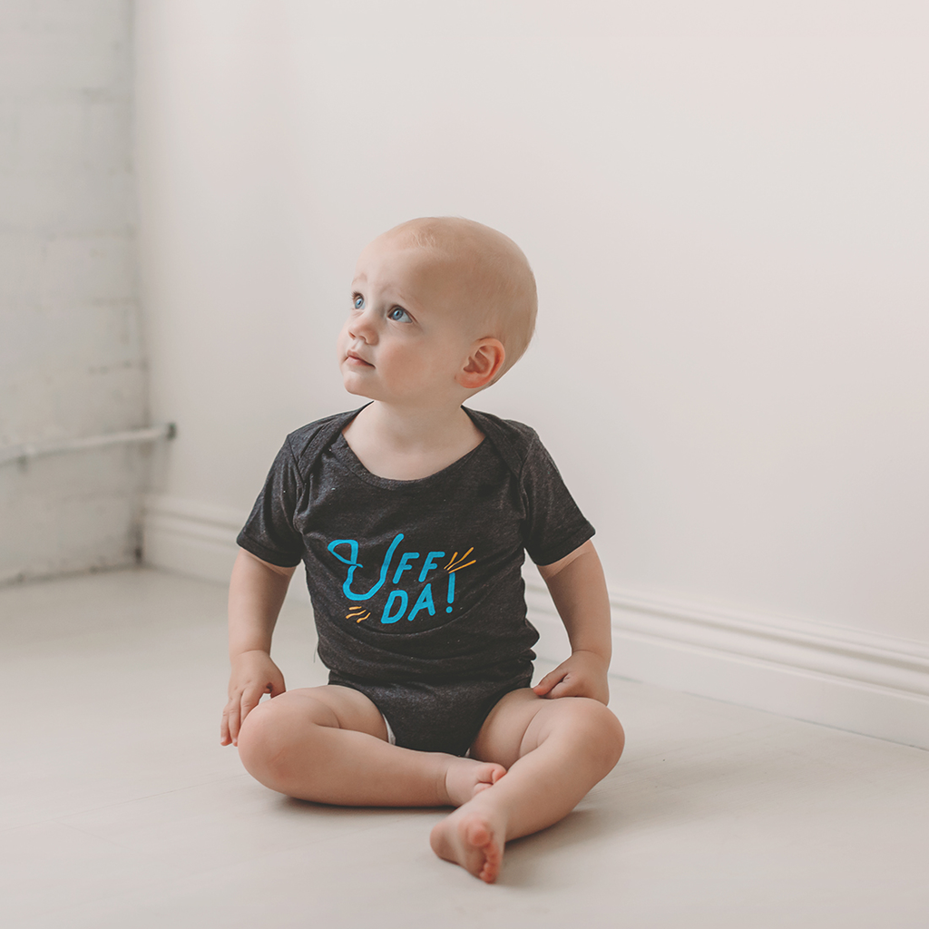 Cotton Bodysuit - Uff Da Sweetpea + Co Apparel