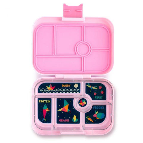 Yumbox Original Leakproof Bento Box - 6 Compartment - Bahamas Pink