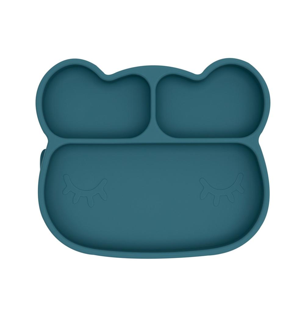 Bear Stickie Plate - Blue Dusk by We Might Be Tiny