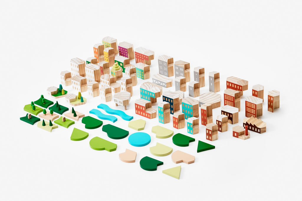 Blockitecture Big City Collector's Set by Areaware Areaware Toys
