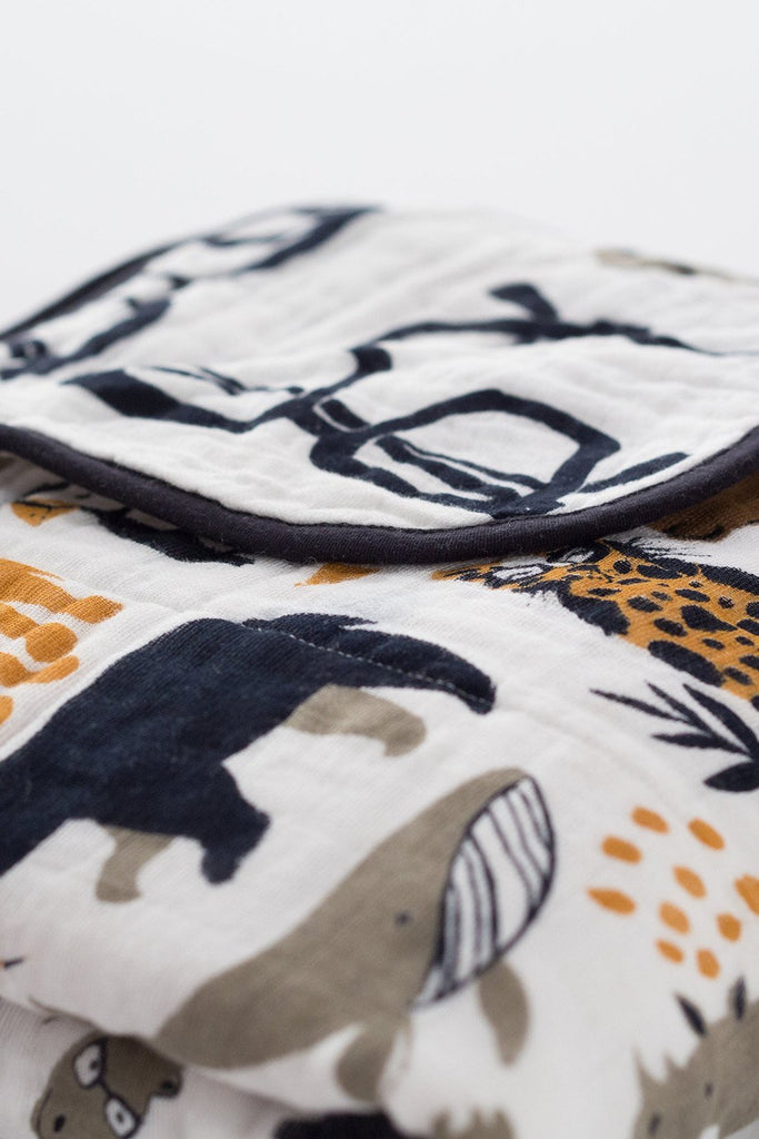 Zoology Reversible Quilt by Clementine Kids