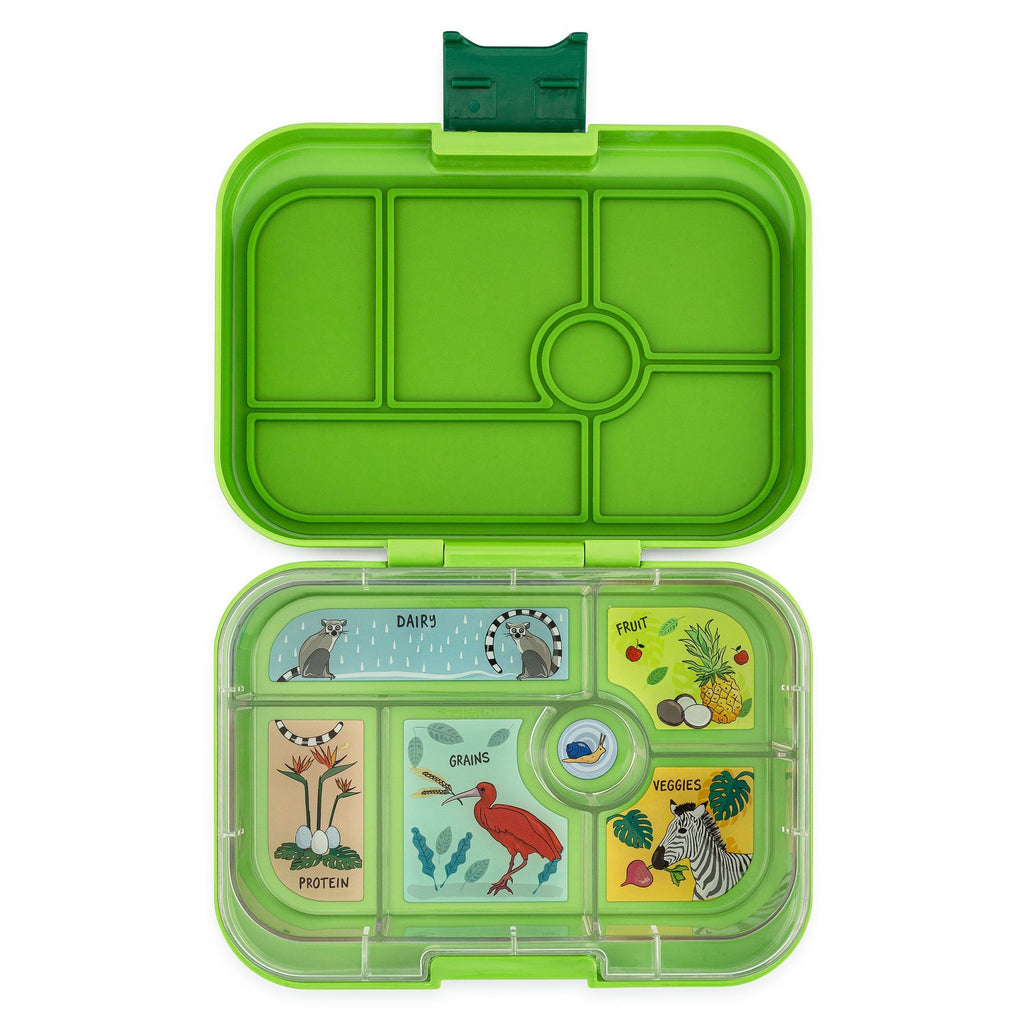 Yumbox Leakproof Bento Box - 6 Compartment - Congo Green