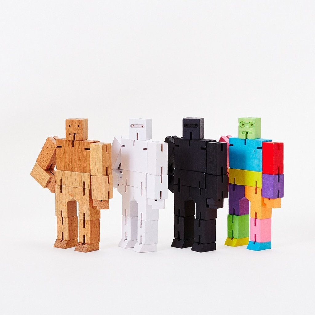 Micro Cubebot - Assorted by Areaware