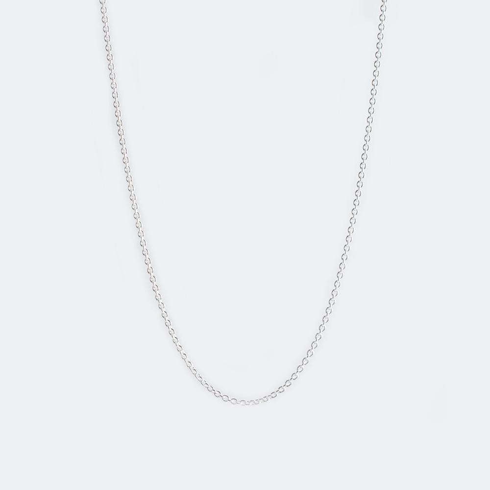 Sterling Silver Necklace Chain Only Wallin + Buerkle Accessories
