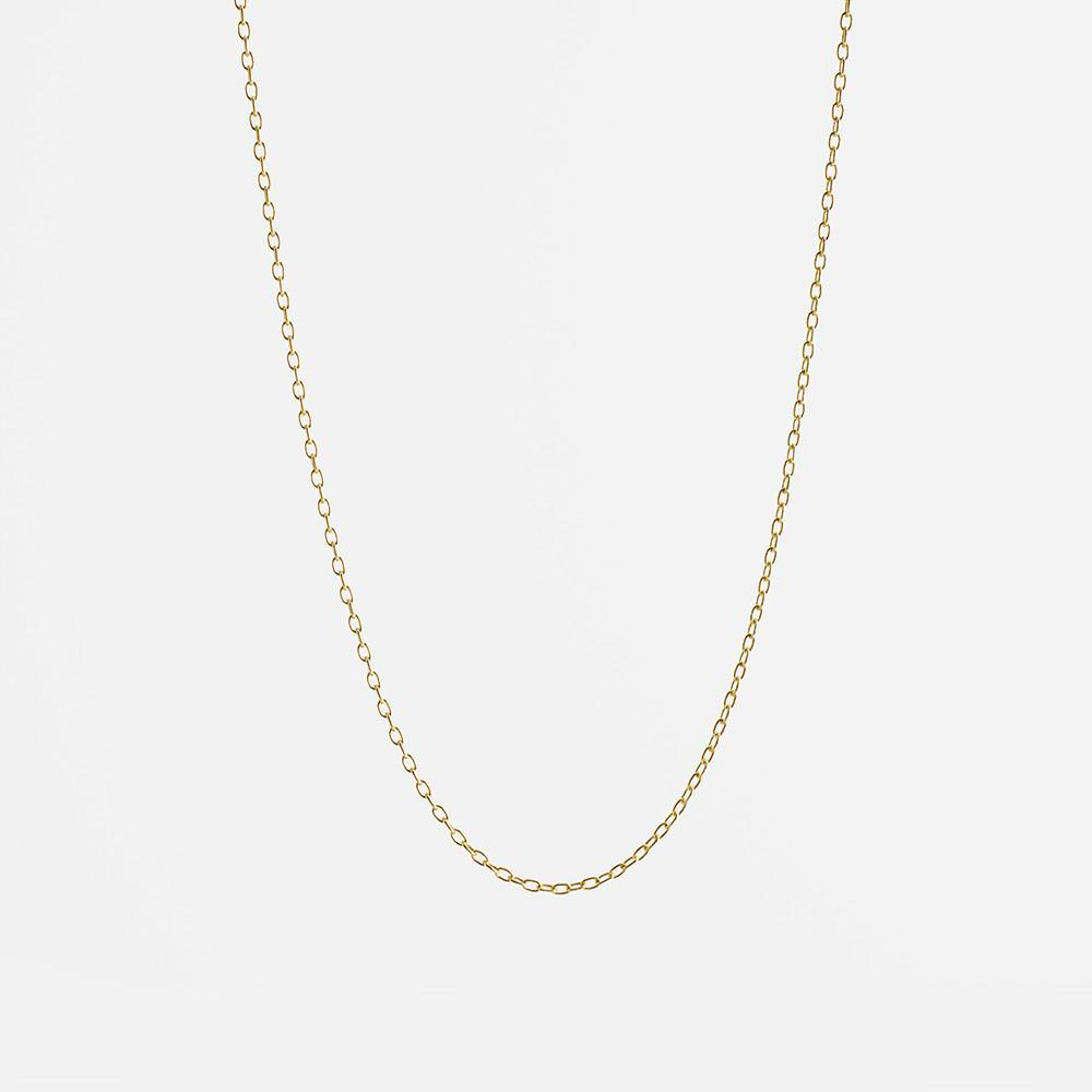 Gold Cable Chain by Wallin + Buerkle