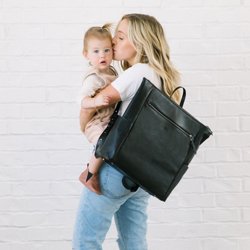 Minimal Diaper Bag - Onyx by Freshly Picked