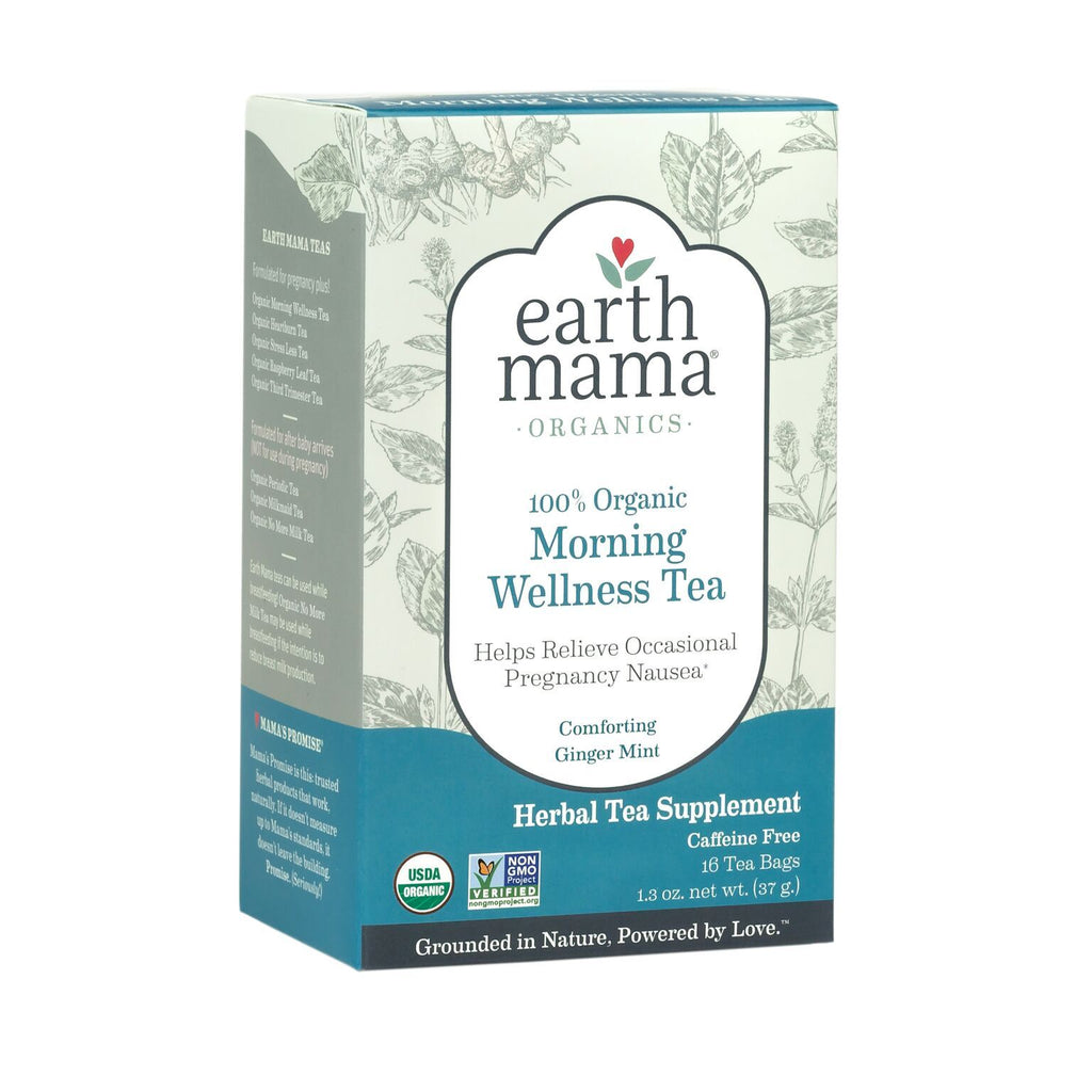 Morning Wellness Tea by Earth Mama Organics Earth Mama Organics Nursing + Feeding