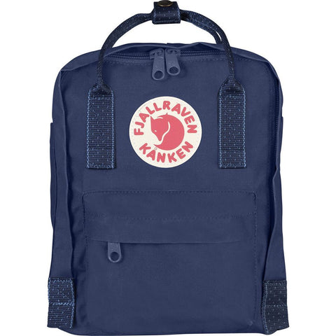 Kånken Mini Backpack - Royal Blue Pinstripe by Fjallraven