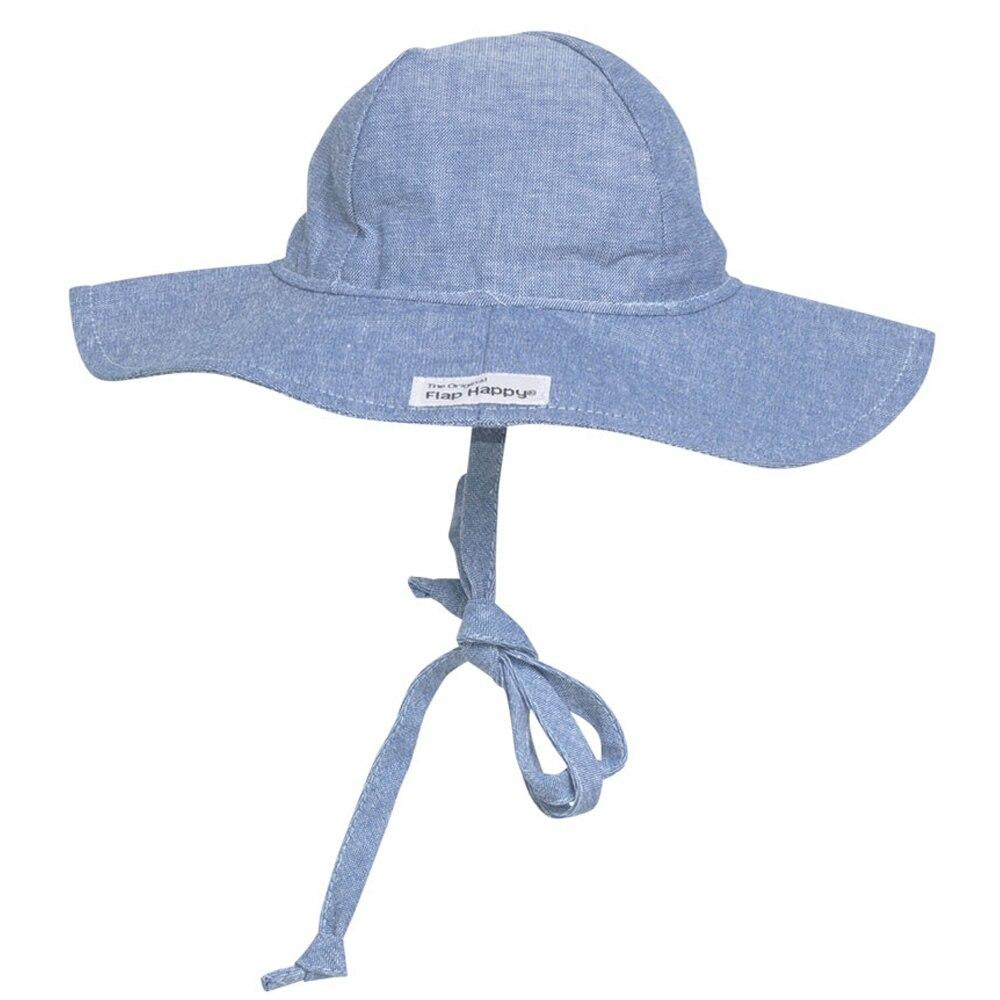 Floppy Hat - Chambray by Flap Happy