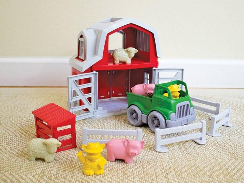 Recycled Farm Playset by Green Toys Green Toys Toys