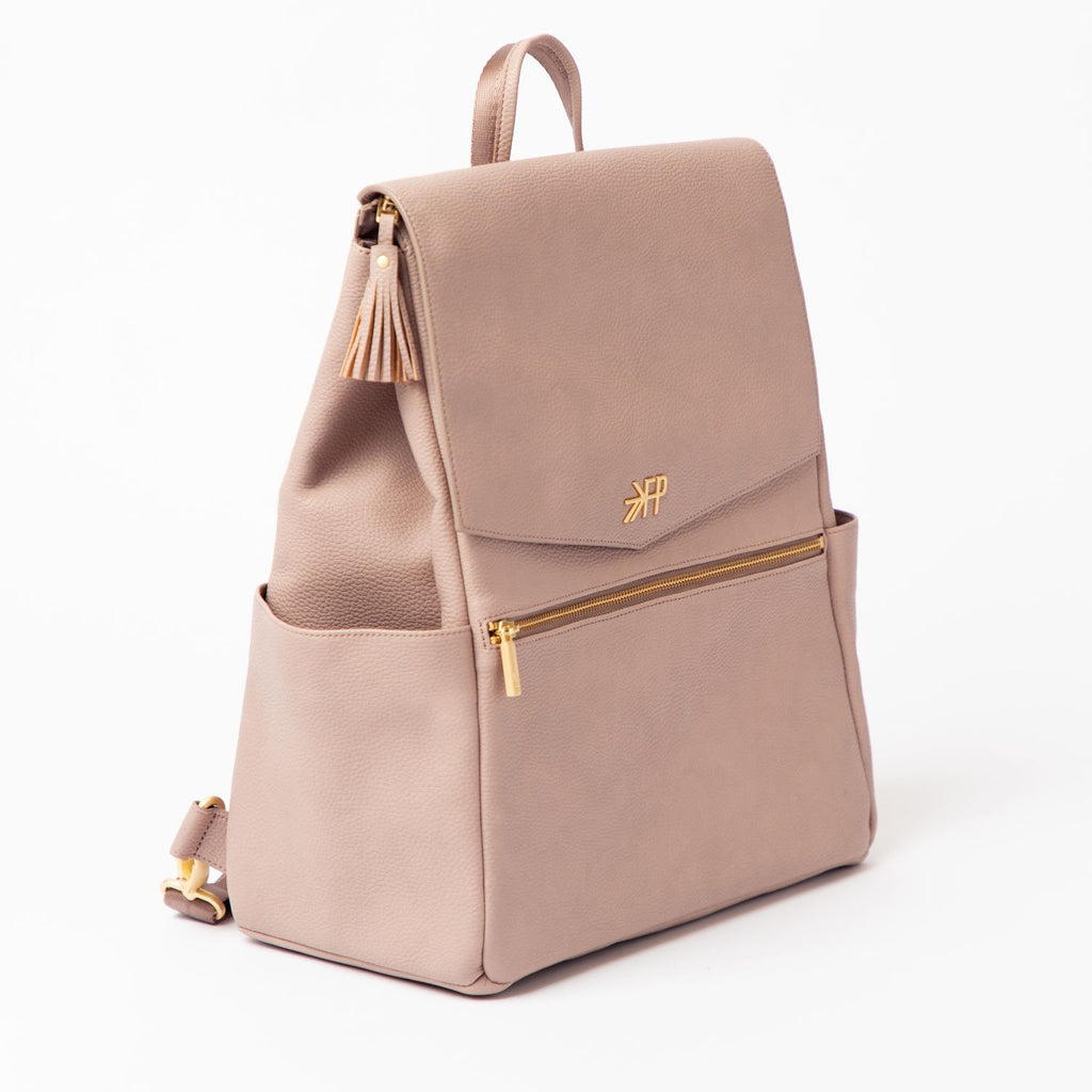 Mauve Diaper Bag by Freshly Picked