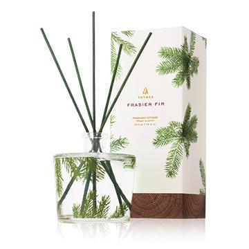 Frasier Fir Pine Needle Reed Diffuser - 7.75 oz Thymes Decor