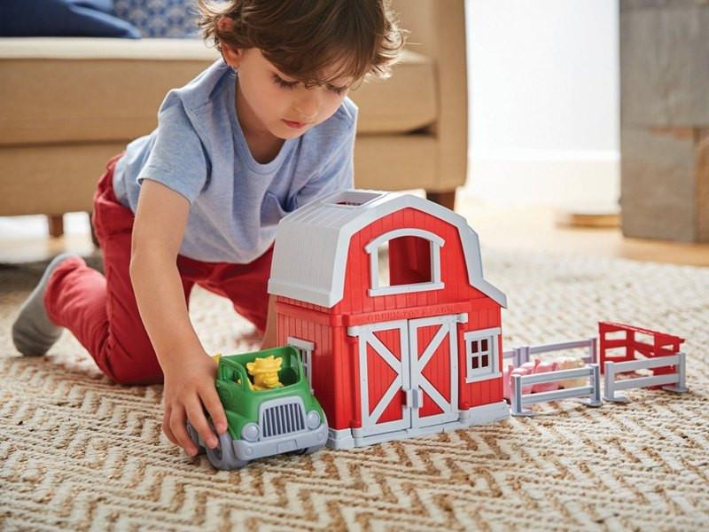 Recycled Farm Playset by Green Toys - Pacifier