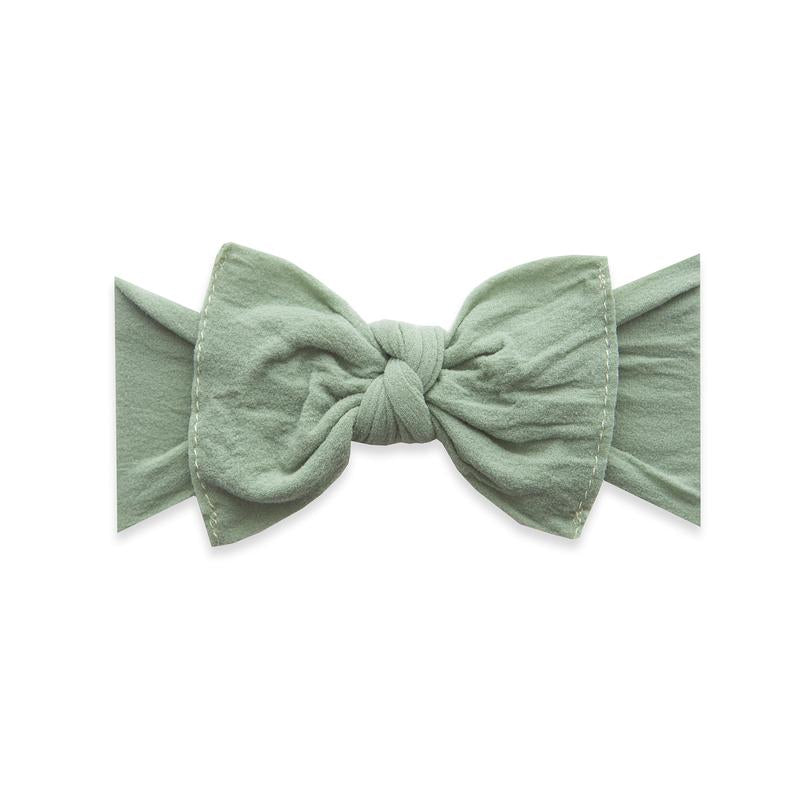 Itty Bitty Knot Headband - Sage by Baby Bling