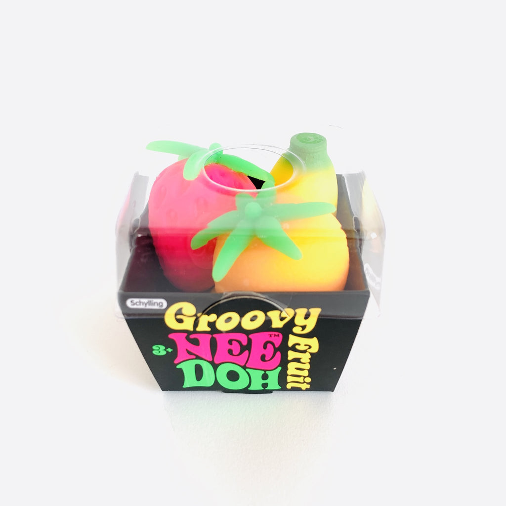 Nee-Doh Groovy Fruit Schylling Toys