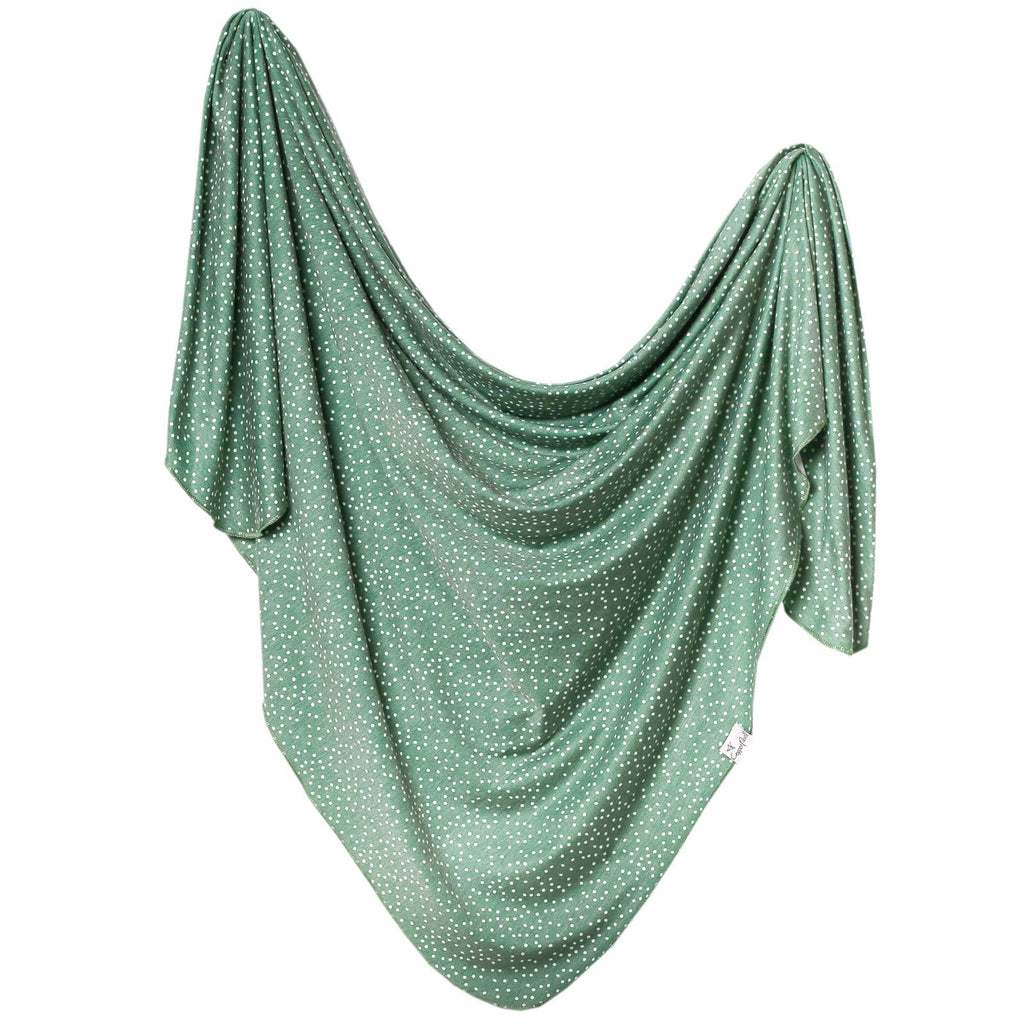 Knit Swaddle Blanket - Juniper by Copper Pearl
