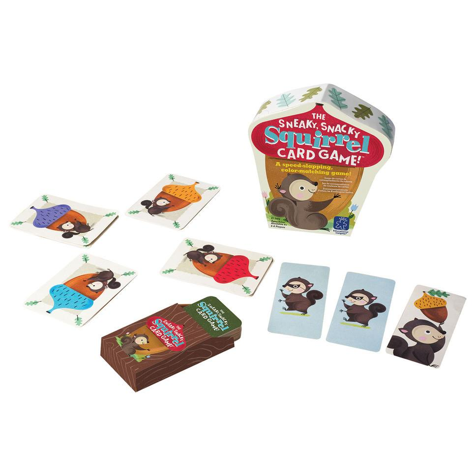 Sneaky Snacky Squirrel Card Game - Pacifier