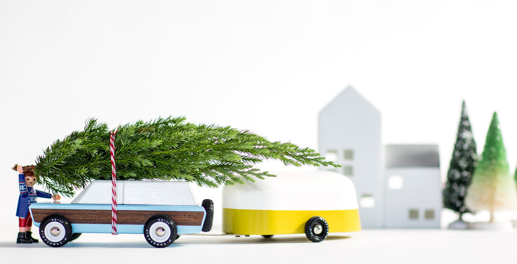 Yellow Camper Trailer by Candylab Toys