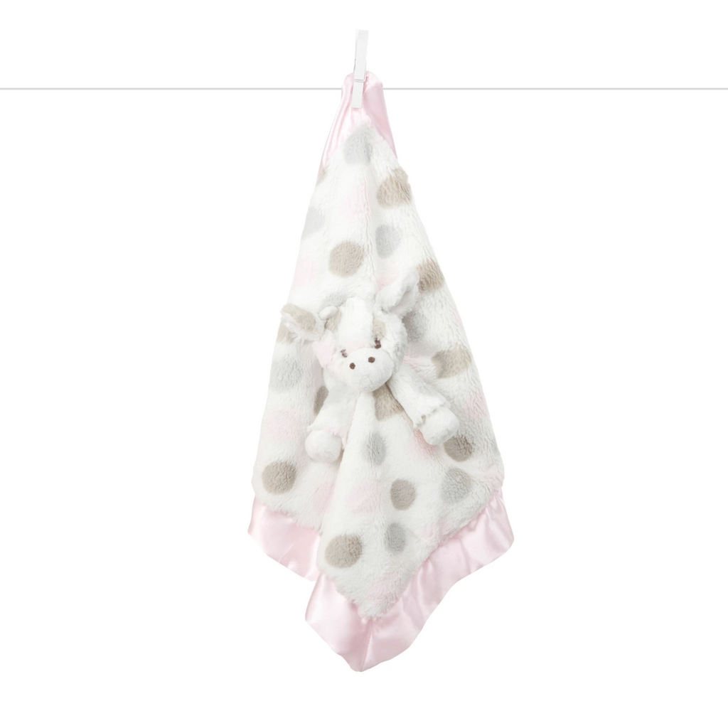 Little G Animal Blanky Luxe Dot by Little Giraffe - Pacifier