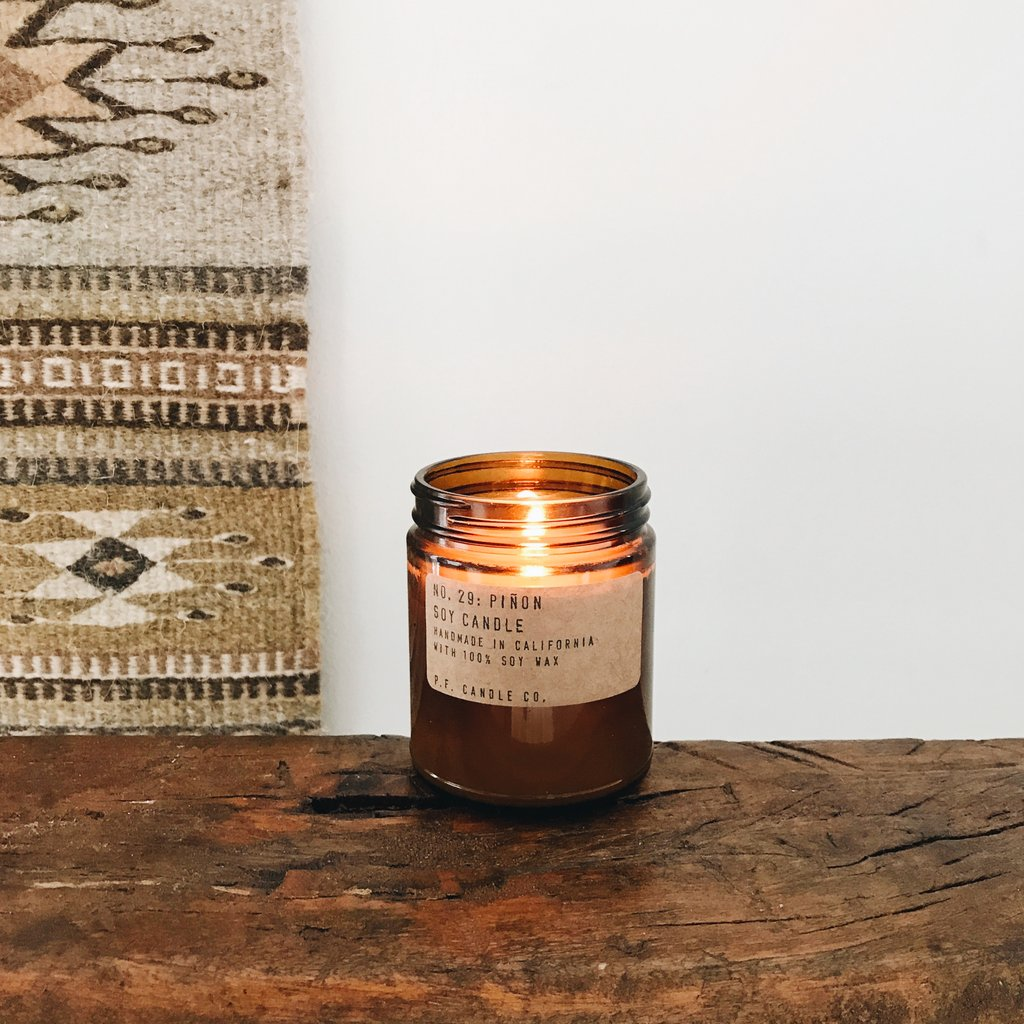 Piñon Soy Candle - Standard by PF Candle PF Candle Co Decor