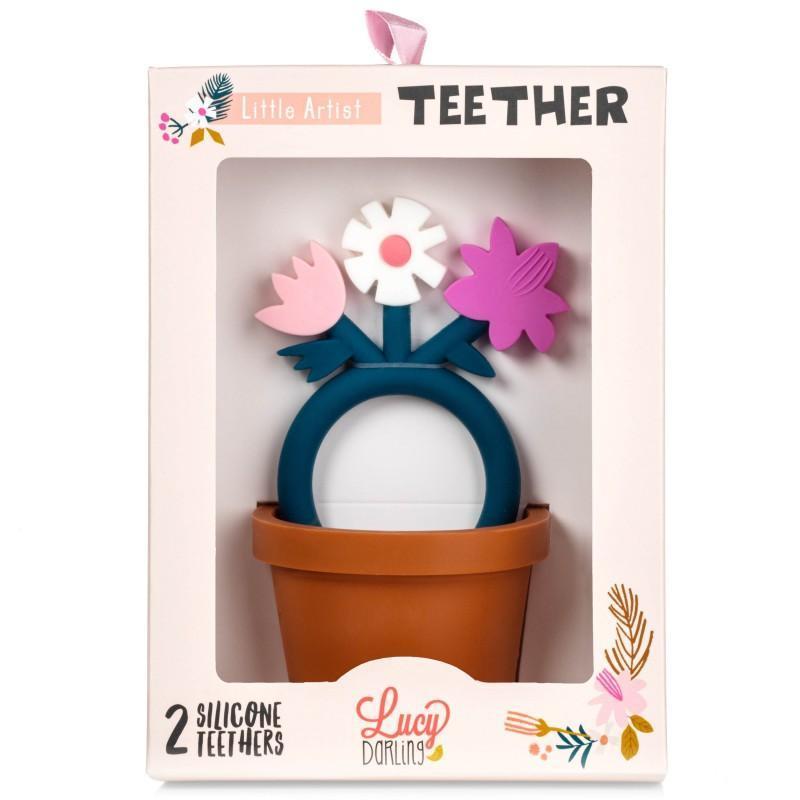 Little Artist Teether Toy by Lucy Darling
