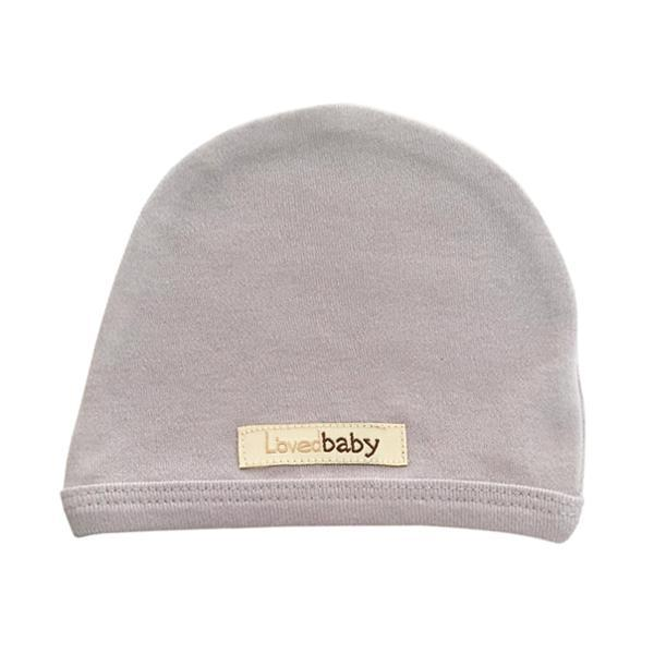 Organic Cute Cap - Light Gray by Loved Baby