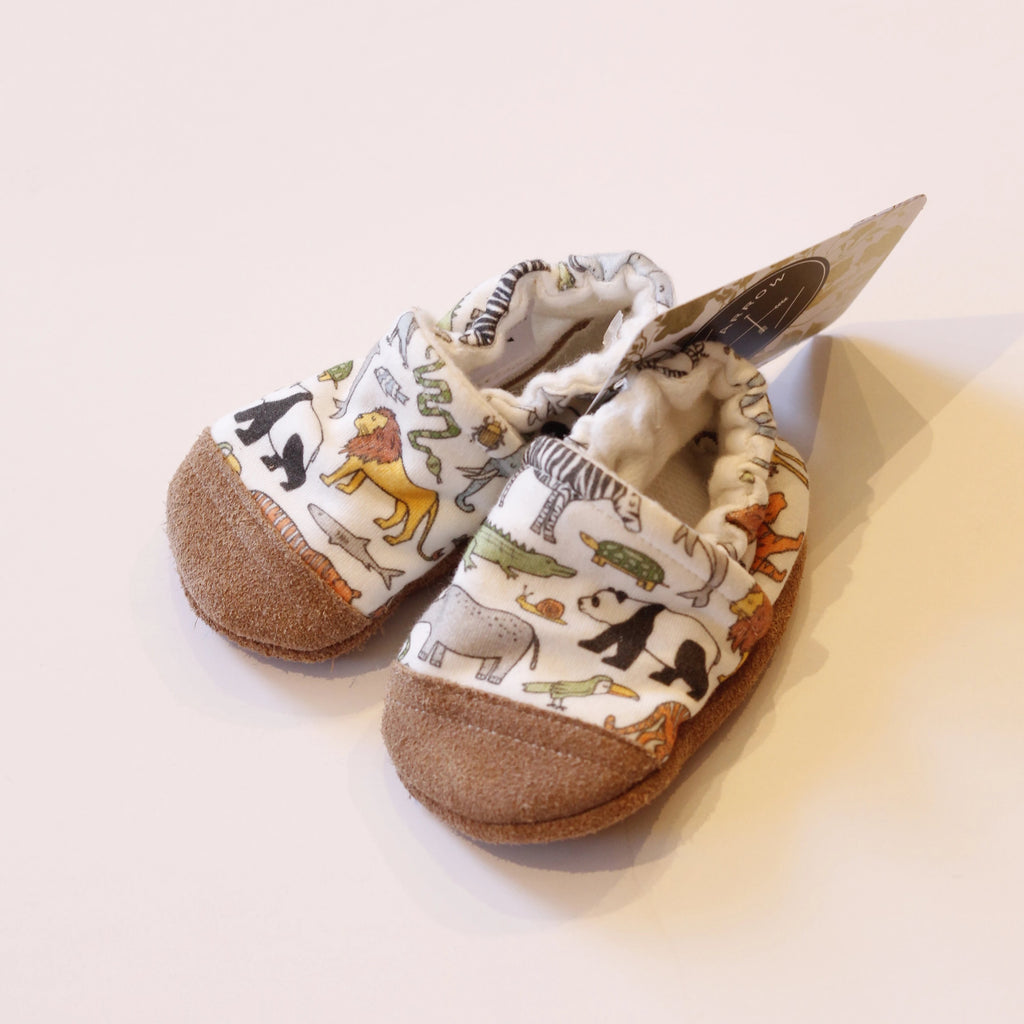 Organic Cotton Slipper - Animals by Snow & Arrow Snow & Arrow Shoes