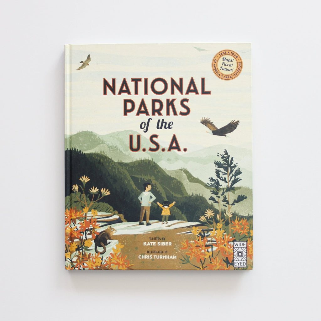 National Parks of the USA - Hard Cover