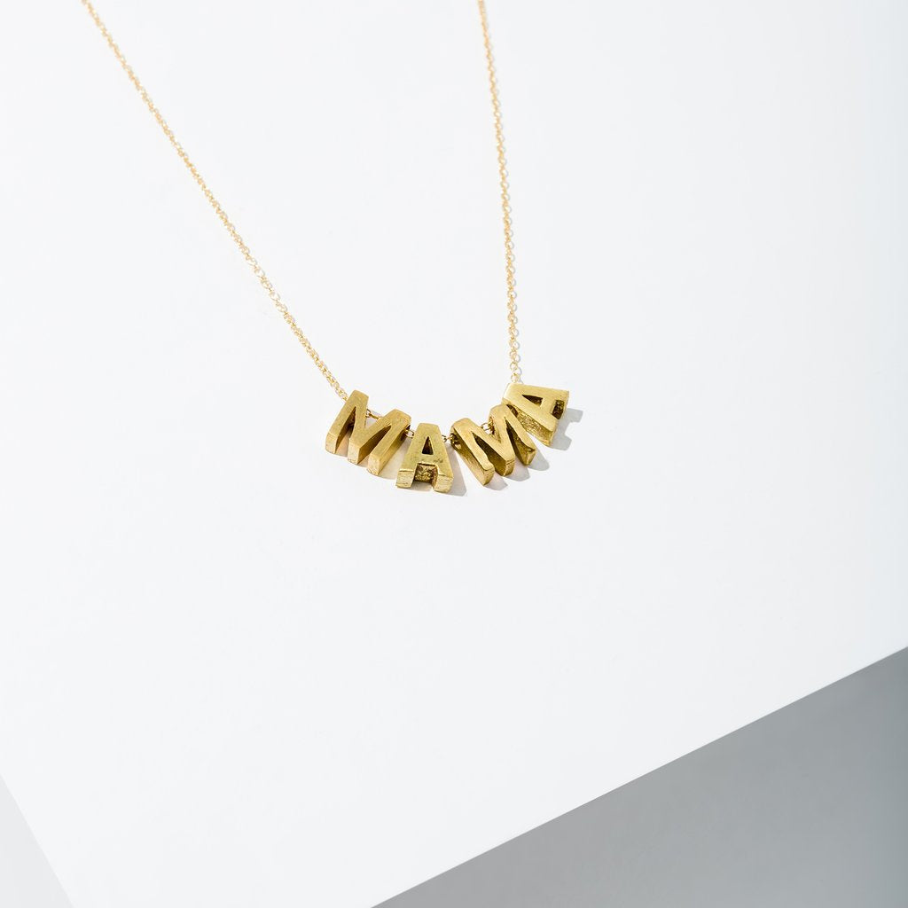 Mama Necklace by Larissa Loden Larissa Loden Accessories