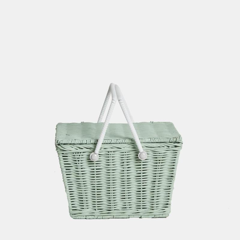 Piki Basket - Mint by Olli Ella