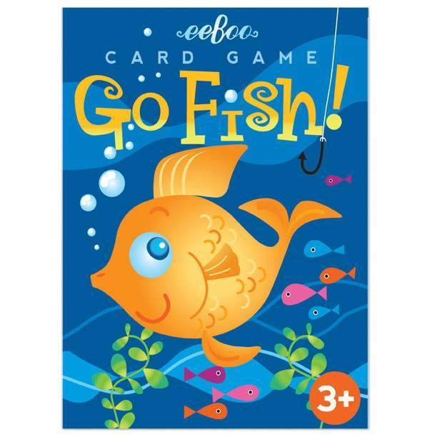 Color Go Fish Playing Cards by Eeboo Eeboo Toys