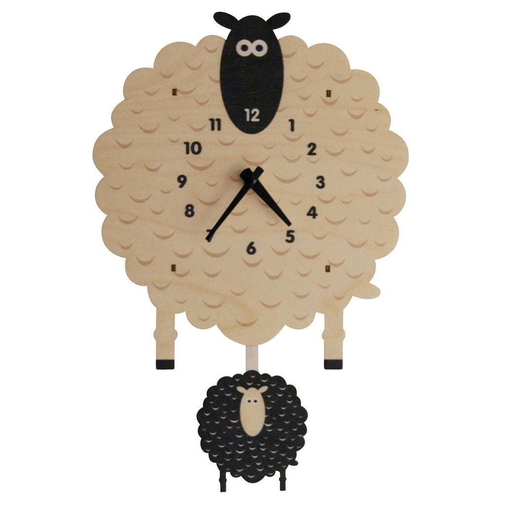 Sheep Pendulum Clock by Modern Moose Modern Moose Decor