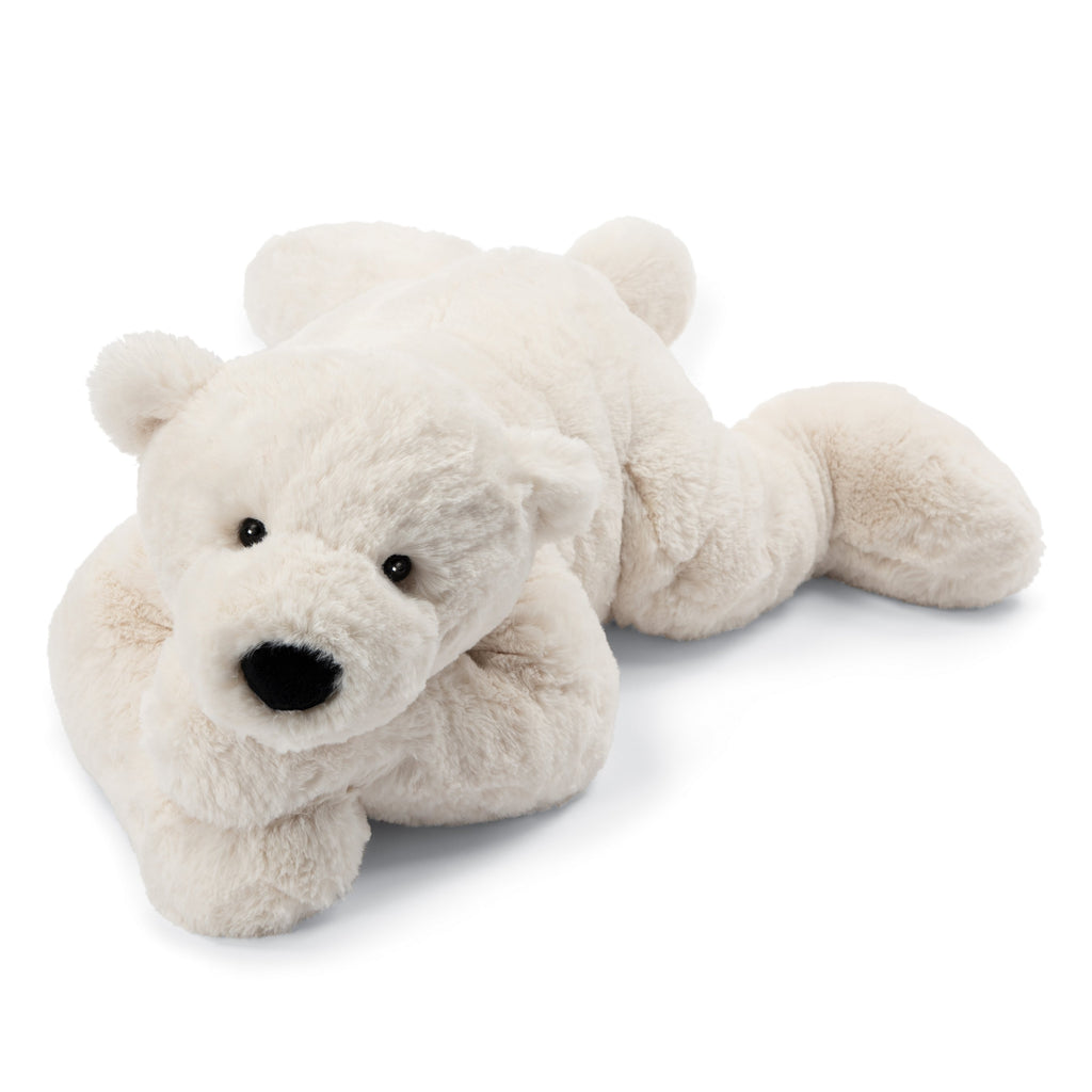 Perry Polar Bear - Lying 28 Inch by Jellycat