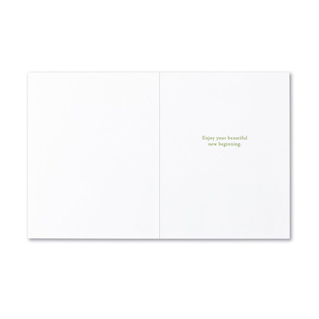 Beginning of all Things Card by Compendium Compendium Paper Goods + Party Supplies