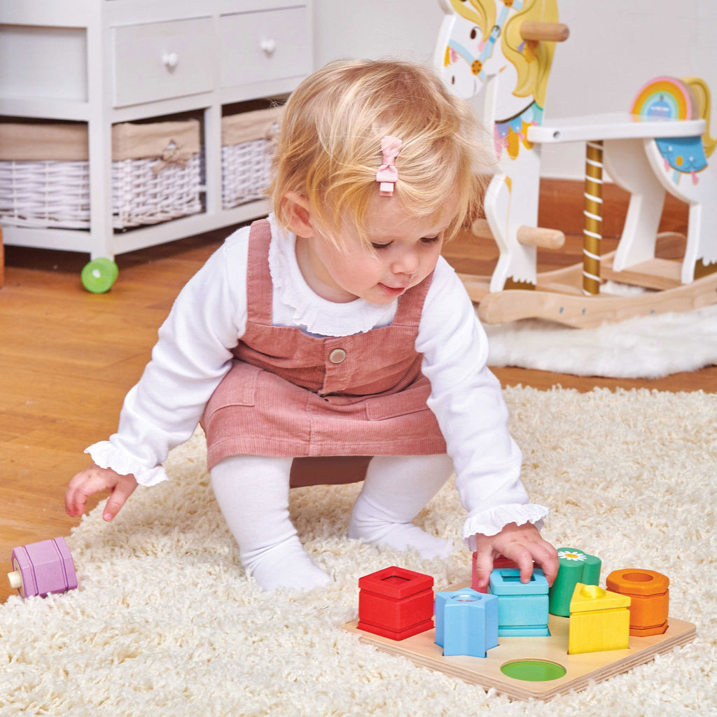 Petitlou Sensory Shapes by Le Toy van