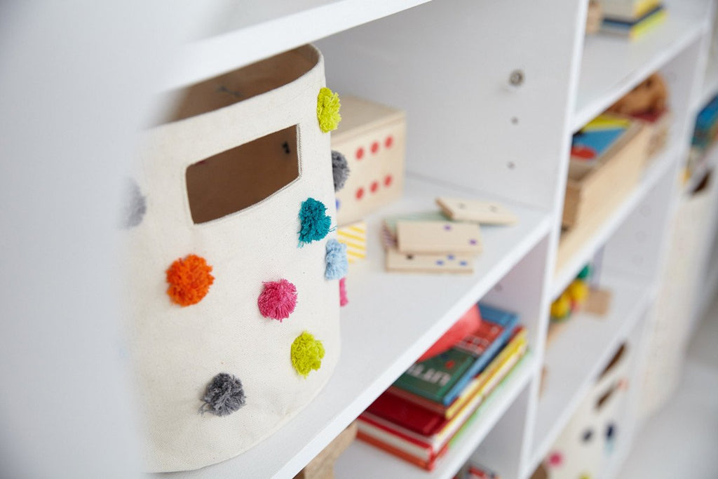 Pom Pom Storage -  Multi-Colored by Pehr