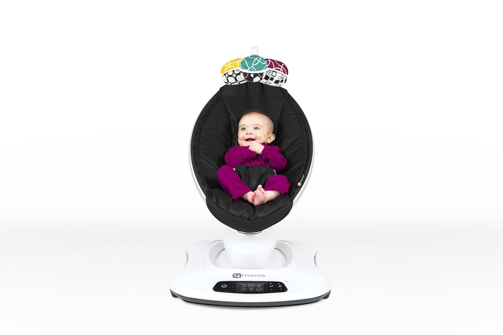 NEW mamaRoo 4 Infant Seat - Classic Black by 4Moms